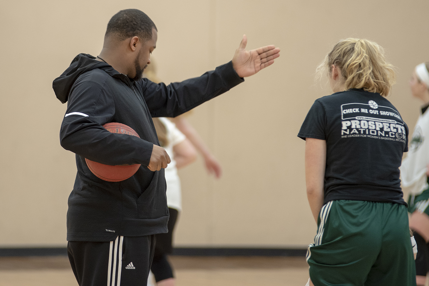 Holy Family Girls' Basketball Goes Up Tempo Under New Coach Adrian Turner Featured Image.