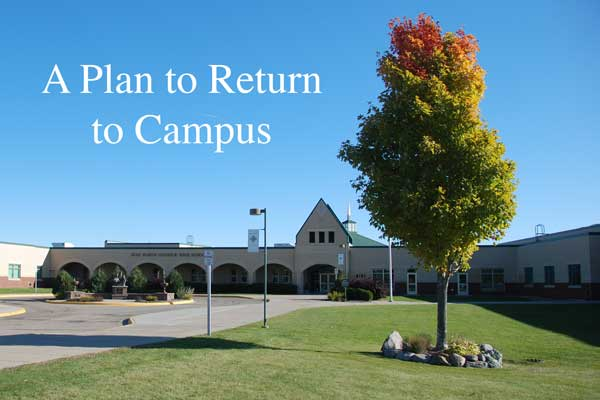 2020-21 Plan to Return to Campus Featured Image.